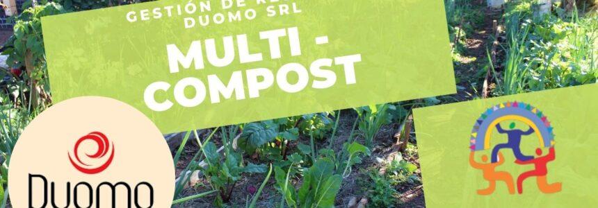 Multi – Compost – Gestión de residuos orgánicos – Duomo Helados