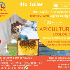 4to Taller – Apicultura Ecológica